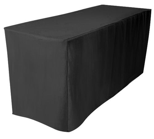 Table cover for step and repeat banner