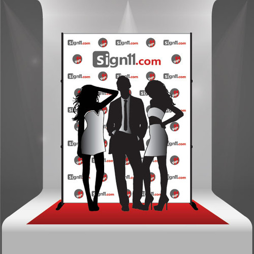Red Carpet Backdrop 10 X8 Stand Red Carpet Sign11 Com