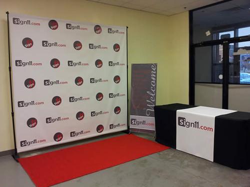 Red Carpet Backdrop 6 X8 Sign11 Com
