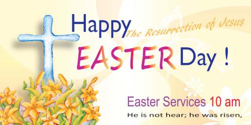Easter Church Banner 511