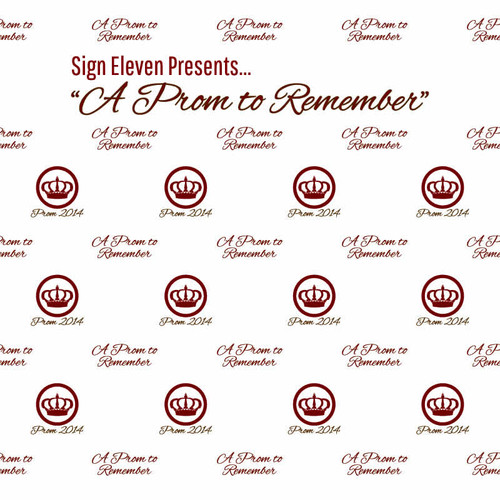 Prom Step and Repeat Backdrop 347