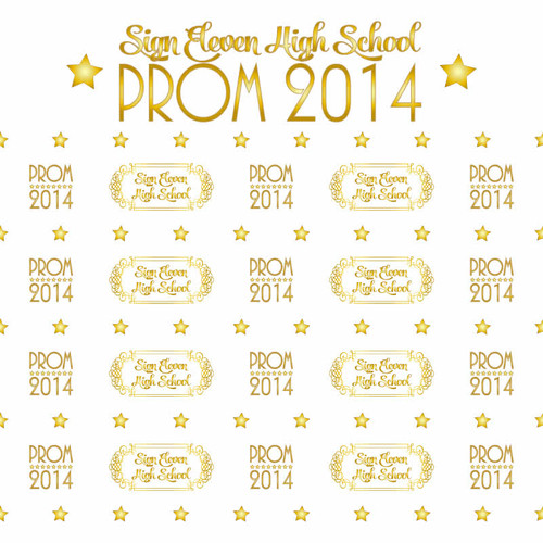 Prom Step and Repeat 405