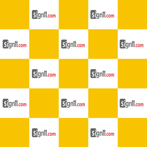 Step and Repeat Banner Pattern 109