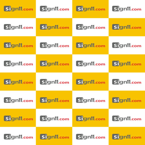 Step and Repeat Banner Pattern 110