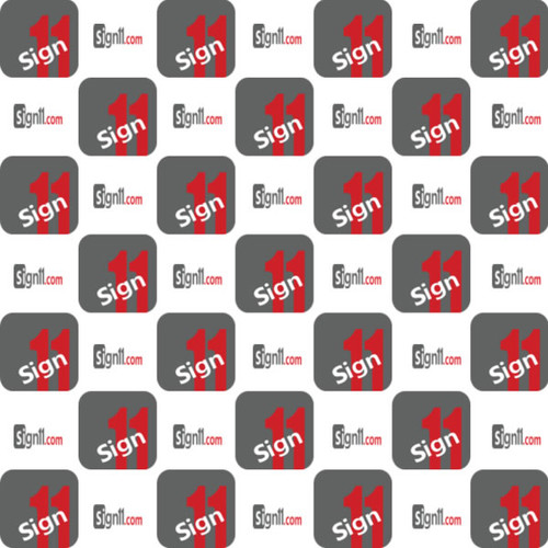 Step and Repeat Banner Pattern 112