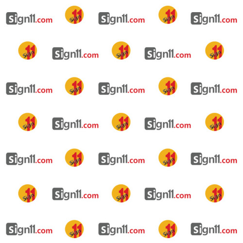 Step and Repeat Banner Pattern 113