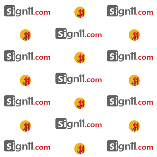 Step and Repeat Banner Pattern 114