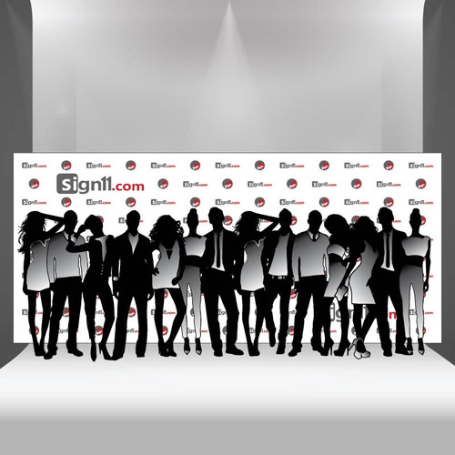 Step and Repeat 18x8, Step and Repeat Banners, Red Carpet Backdrops, Red Carpet Banners