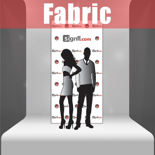 Fabric Step and Repeat Banner Backdrop 4'x8'