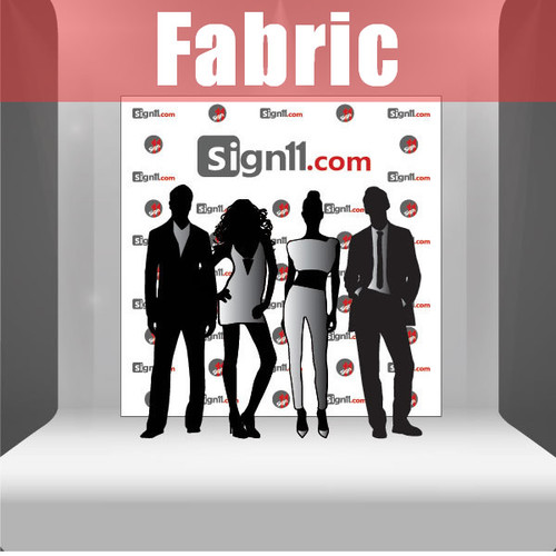 Fabric Step and Repeat Banner Backdrop 8'x8'
