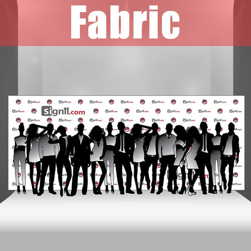 Fabric Step and Repeat Banner Backdrop 20'x8'