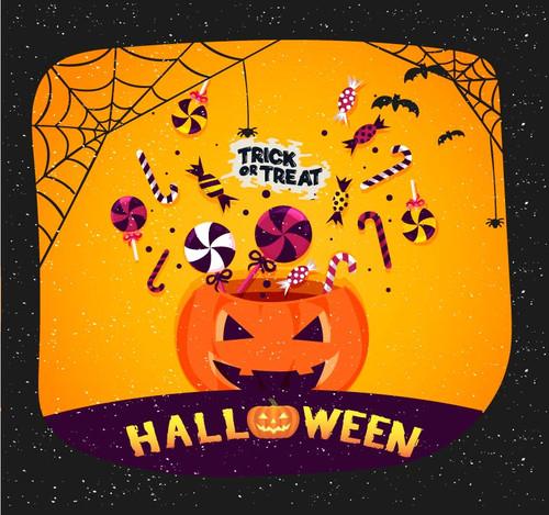 Halloween Backdrop 7020