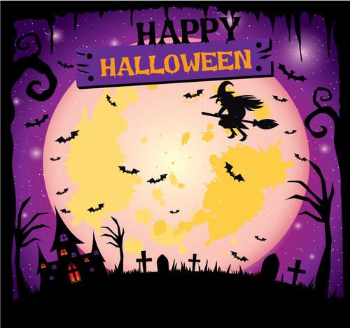 Halloween Backdrop 7021
