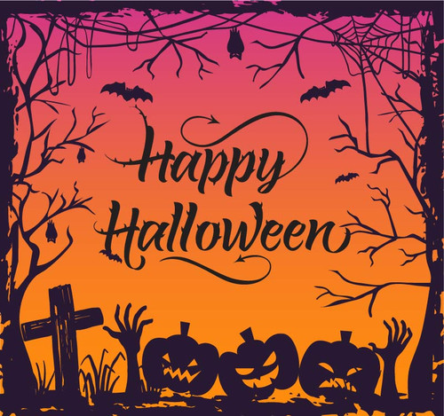 Halloween Backdrop 7022