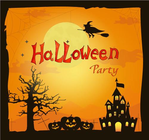 Halloween Backdrop 7026