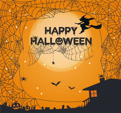 Halloween Backdrop 7028