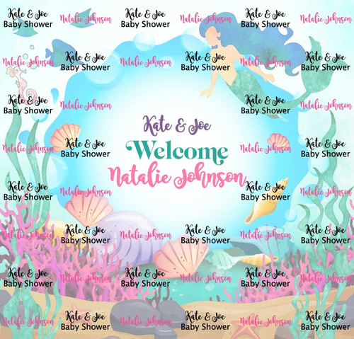 Baby Shower Backdrop 9030