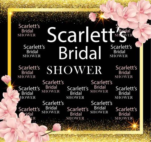 Wedding Bridal Shower Backdrop 9031