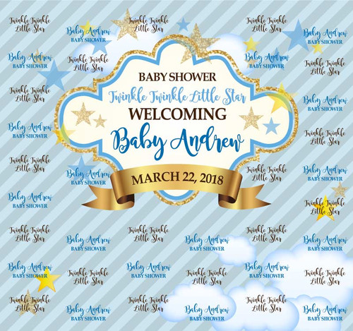 Baby Shower Backdrop 9032
