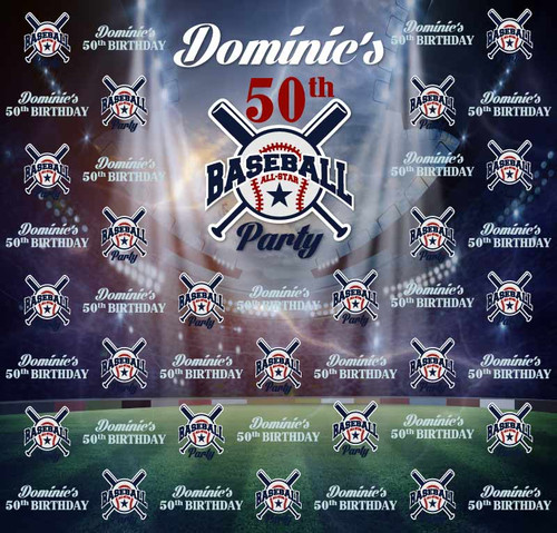 Anniversary Sports Backdrop 9033