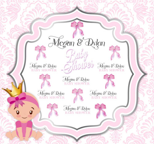 Baby Shower Backdrop 9038