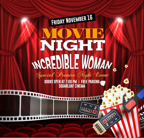 Movie Night Event Backdrop 9041