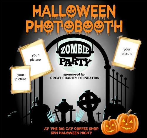 Halloween Backdrop 9047