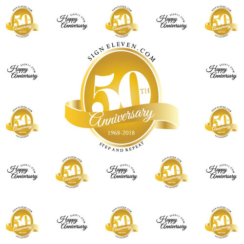 Anniversary Backdrop 2959