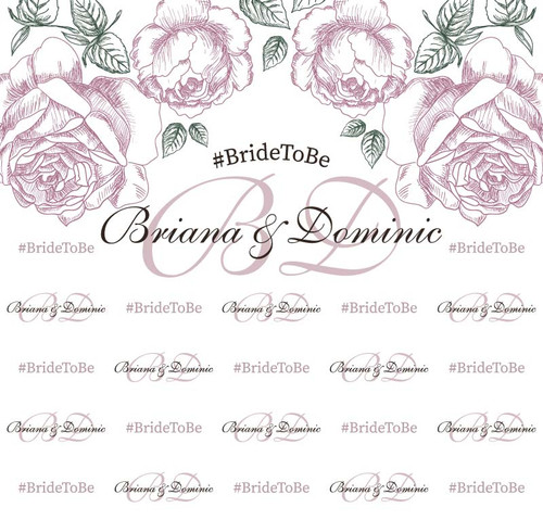 Bridal Shower Backdrop 5017