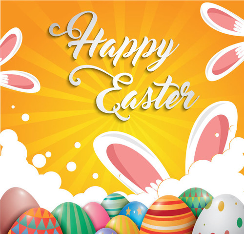 Easter Backdrop 7031