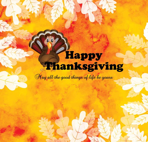 Holiday Backdrop 4016 , Thanksgiving Backdrops
