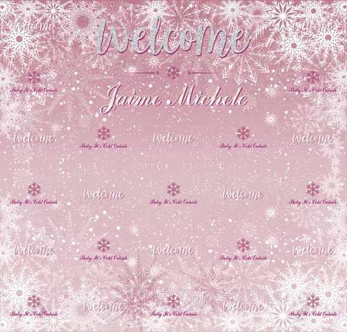 Baby Shower Backdrop 5060