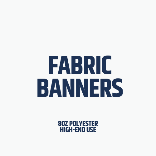 Fabric Banners, Custom fabric banners, cheap fabric banners