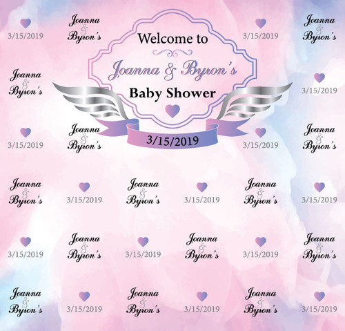 Baby Shower Backdrop 5048