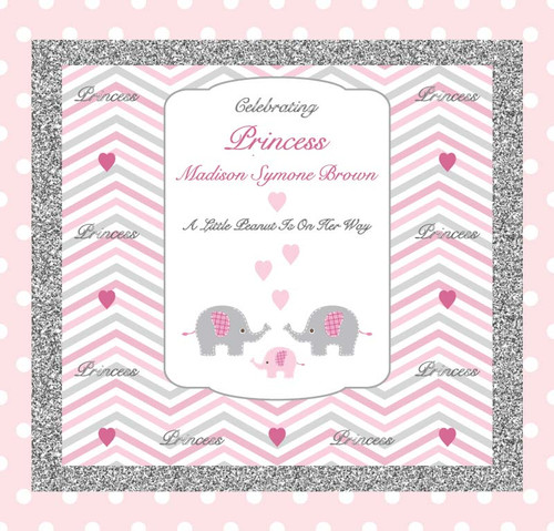 Baby Shower Backdrop 5074