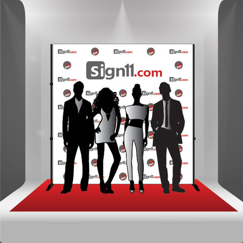 Step and repeat banner, Red Carpet Banner