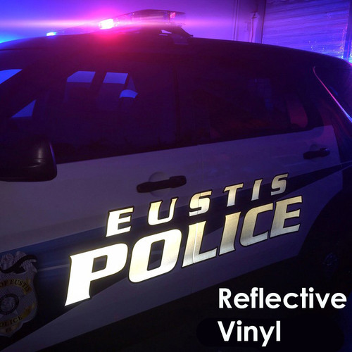 reflective vinyl letters