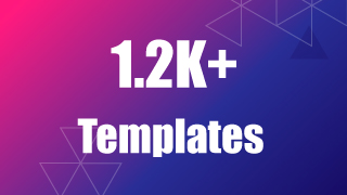 1.2K Templates