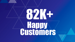 82K Happy Customers