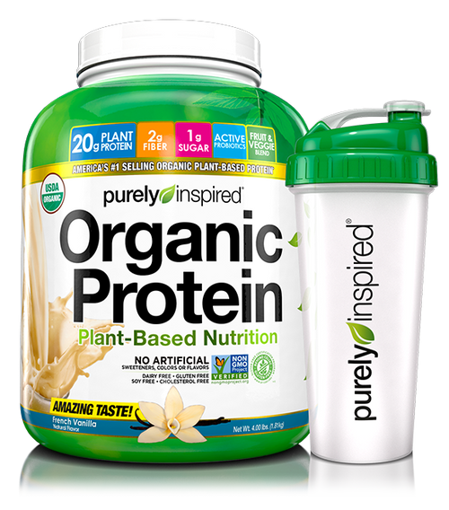 Organic Protein + Shaker Cup
