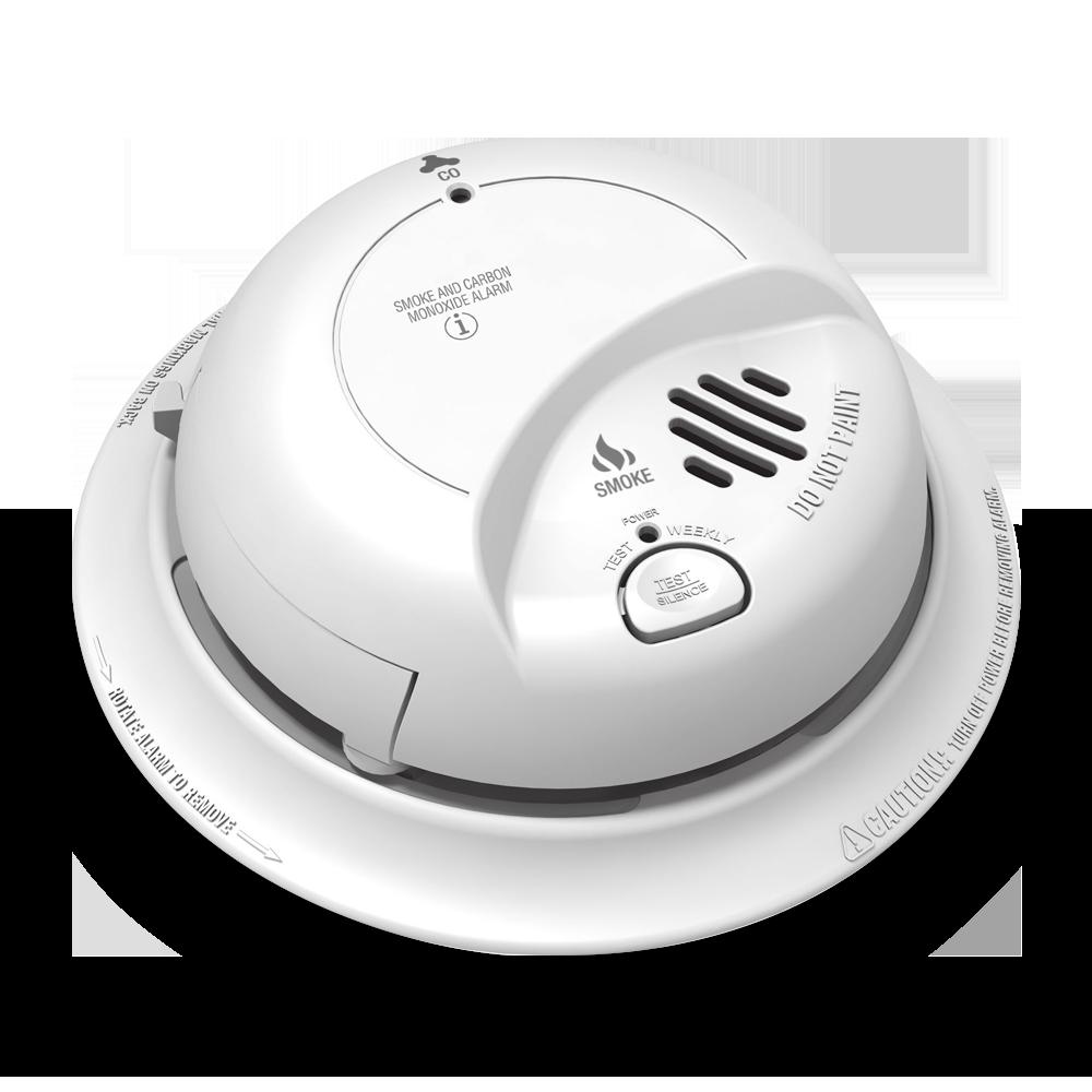 Combination Smoke Detector, Fire Alarm and Carbon Monoxide Detector
