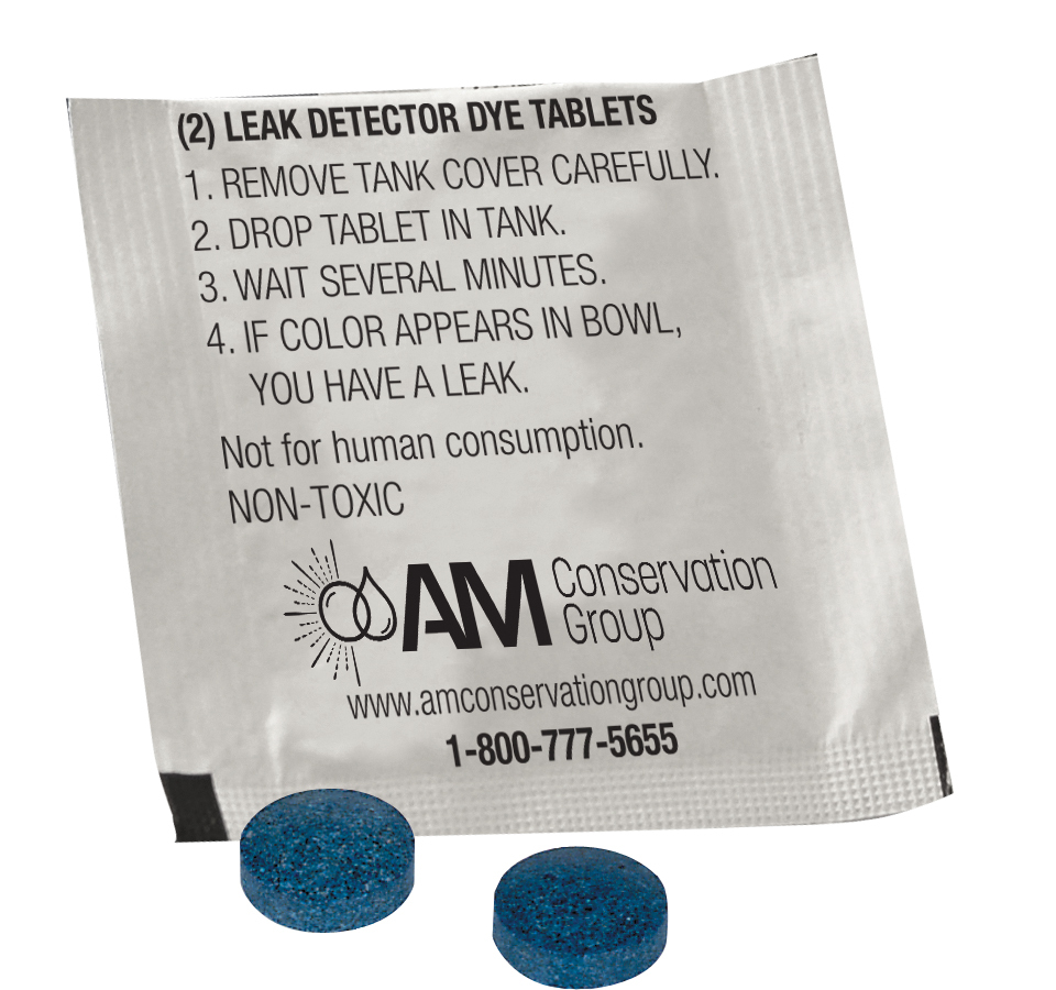 Leak-Detection Dye Tablets