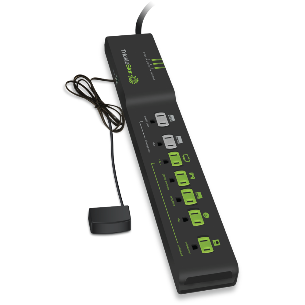 Seven-Outlet Advanced Powerstrip with Motion Sensor