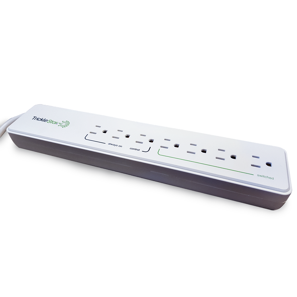 TrickleStar Seven-Outlet Advanced Power Strip