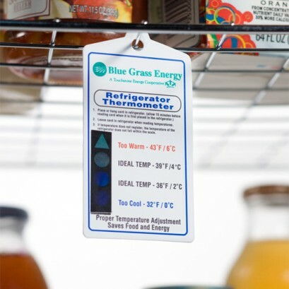 Refrigerator Thermometer Card