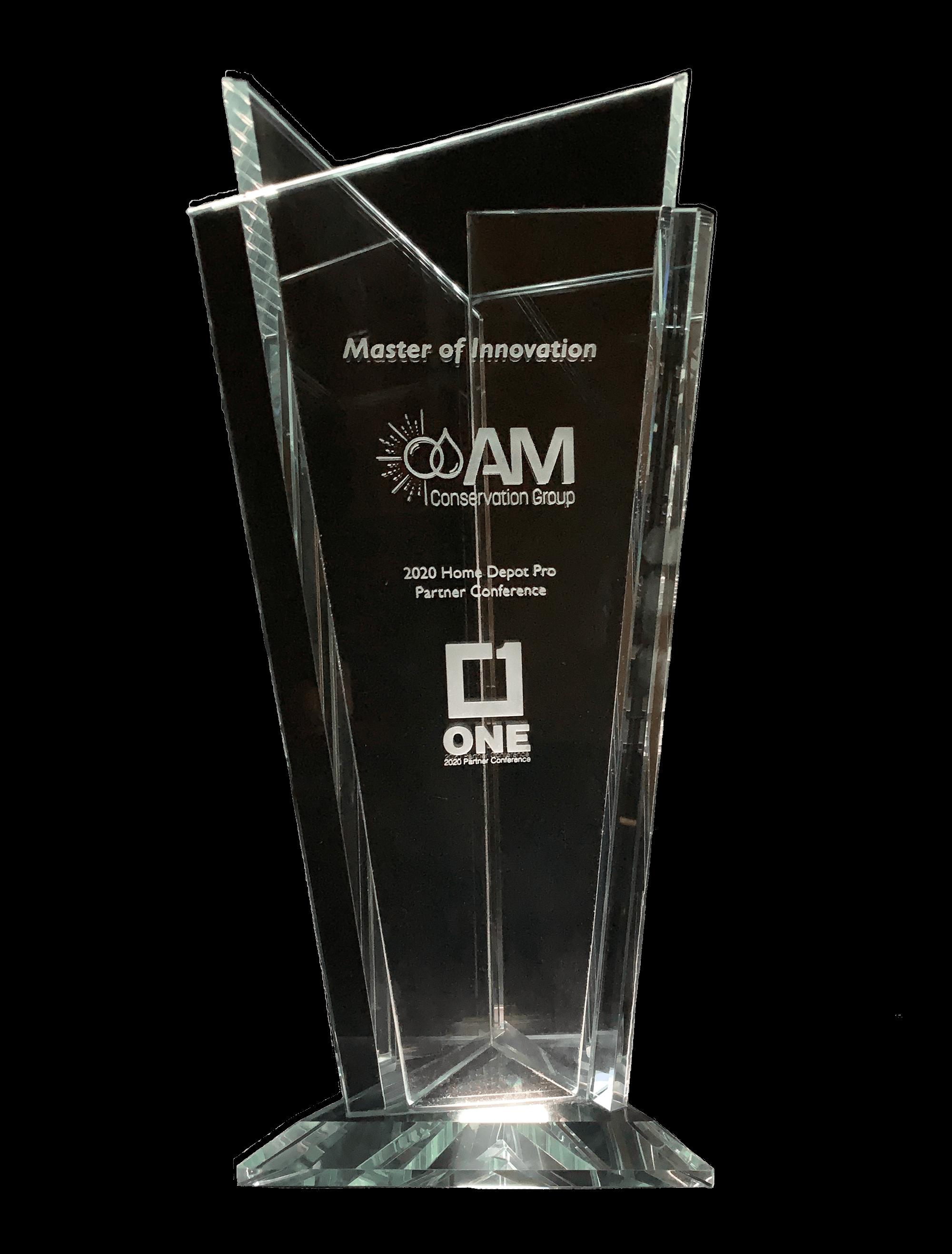 Winner of the Master of Innovation Award!