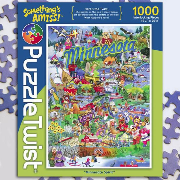 Puzzle Twist Minnesota Spirit