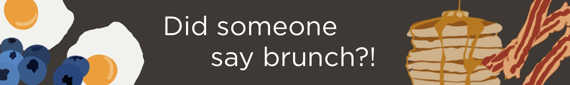 Spring Brunch Favorites - Blueberry Pancakes, Eggs, French Toast, Bacon