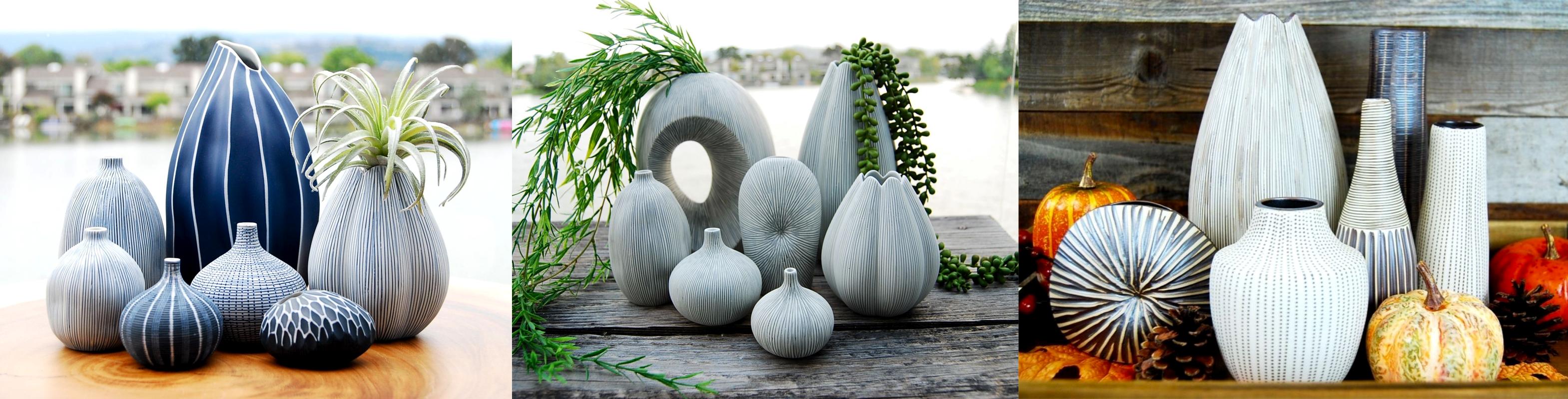 Hand Made Designer Ceramic Home Décor Vases