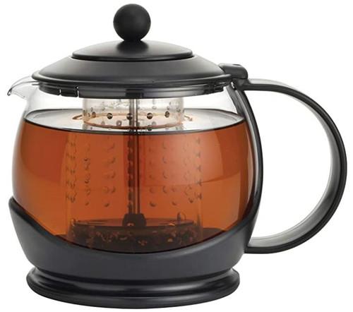 Bonjour Prosperity Glass Teapot with Shut-Off Infuser